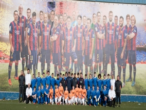 DSE winterkamp Barcelona 2014