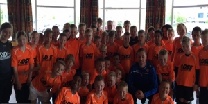 Teamfoto Pro trainingskamp Arnhem 2015