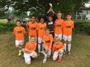 Winnaars E toernooi Belfeldia